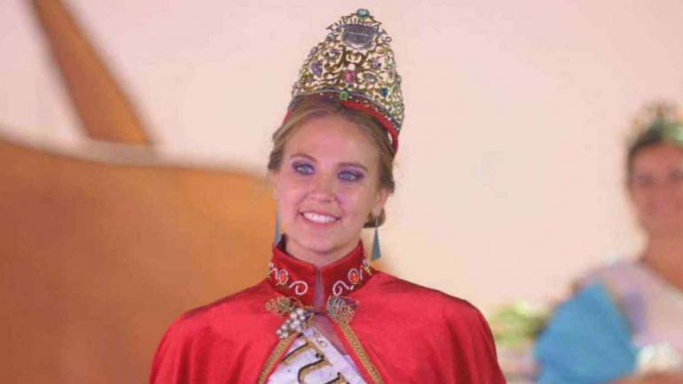 María José Di Marco, la nueva reina de la Vendimia (Los Andes).
