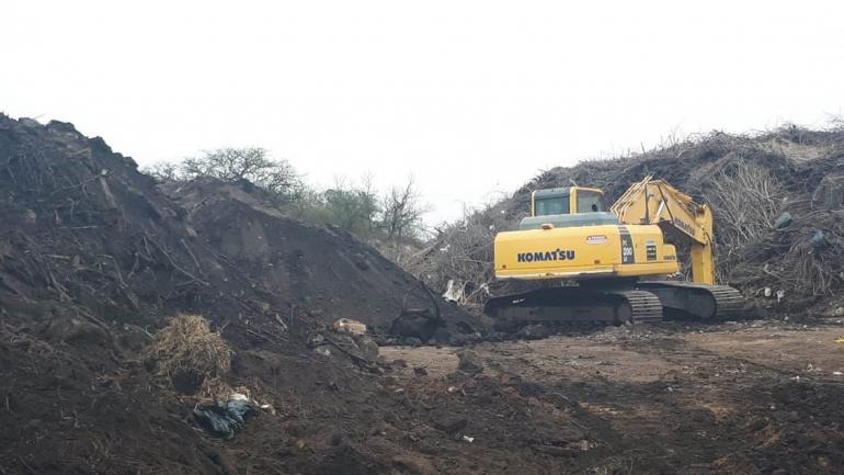 De todas las alternativas evaluadas, el enterramiento fue la más conveniente. /Municipalidad de Mendiolaza.