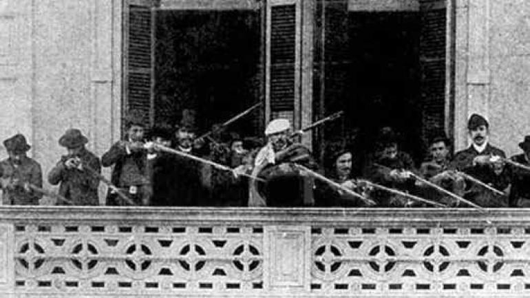 1890. La Revolución del Parque surgió en oposición a la Generación del ´80.