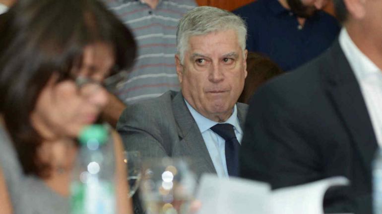 PJ. Carlos Gutiérrez, titular de la bancada de Unión por Córdoba. (La Voz)