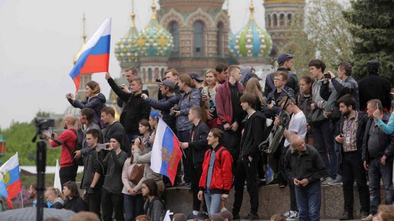 RUSIA. Detuvieron al principal líder opositor en una manifestación en Moscú (AP).