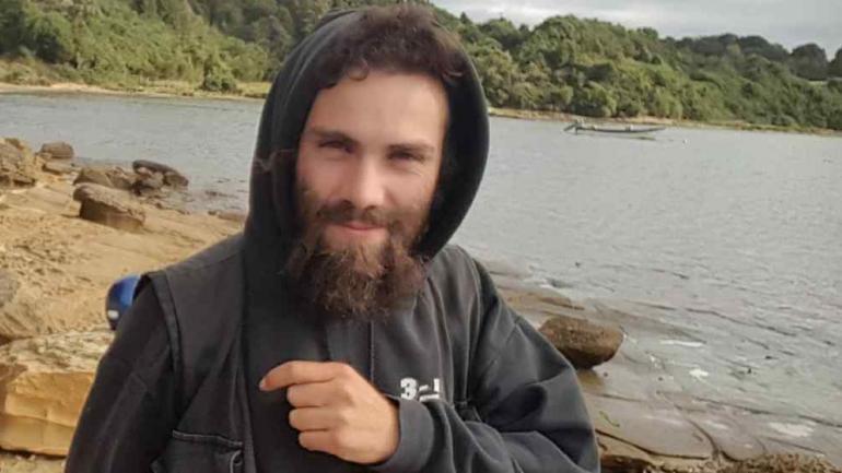 Santiago Maldonado, el joven desaparecido en agosto.
