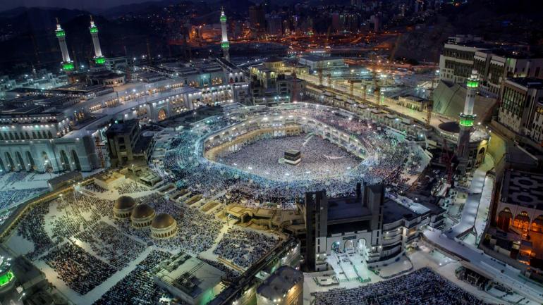 La peregrinación islámica anual atrae a millones de visitantes cada año, por lo que la mayor reunión anual de personas en el mundo. (Foto AP / Dar Yasin)