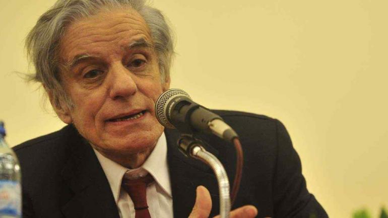 El sociólogo e historiador Juan José Sebreli expondrá en Diputados (La Voz/Archivo).