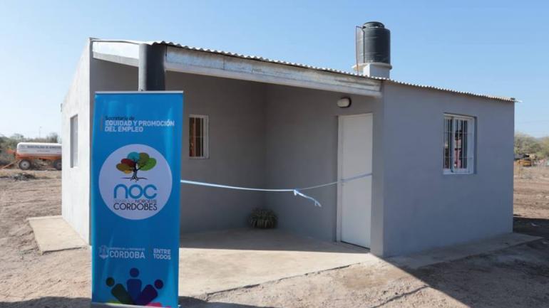 Estas 14 nuevas viviendas se suman a 5 ya entregadas meses atrás y otras 16 nuevas unidades de las mismas características se encuentran en construcción. (Municipalidad de Serrezuela)