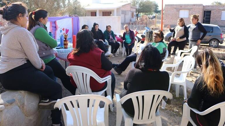 """Se trata de un modelo de participación ciudadana, con perspectiva de género, que sus protagonistas bautizaron como: """"Miradas de Mujer"""". (Municipalidad de Serrezuela)"""