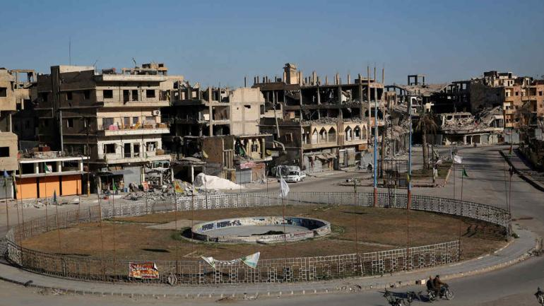 SIRIA. En la ciudad de Damasco se han incrementado los ataques en los últimos meses (AP).