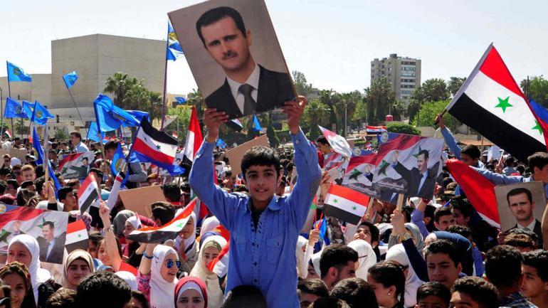 ATAQUE DE MISILES EN SIRIA. Al Assad, ¿uno de los ganadores? (AP).