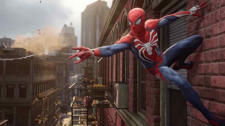 Spiderman. La nueva versión del juego que saldrá este año contará con gráficos supremos.