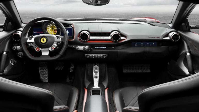 Ferrari 812 Superfast. (Autoblog)