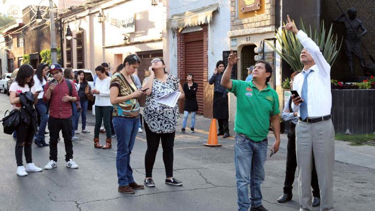 SISMO. Tuvo una magnitud de 7,5 y se registró en el estado sureño de Oaxaca. (AP)