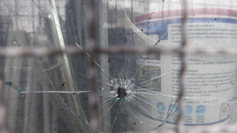 Balacera. La gran cantidad de disparos hizo temer por más personas heridas.