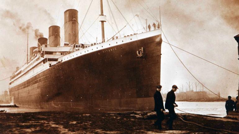 El Titanic (AP).