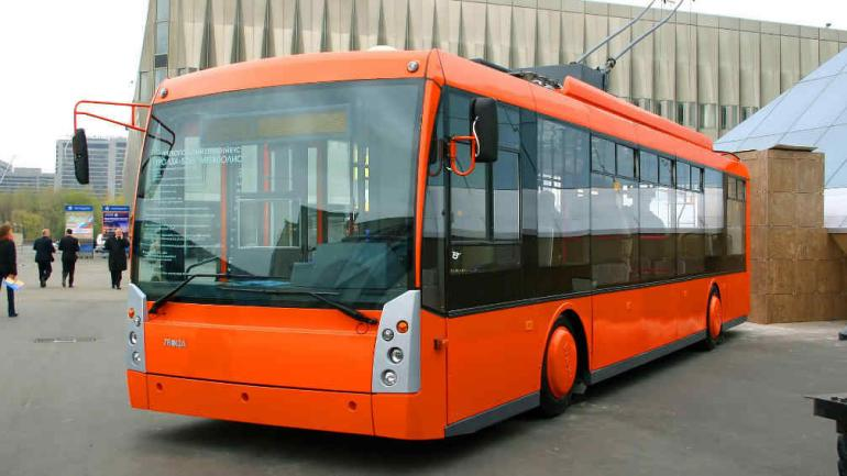 MEGÁPOLIS. El municipio compró dos de estas unidades de origen ruso (Trolza).