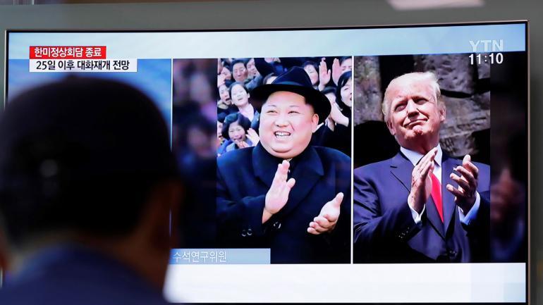 TRUMP. (AP / Archivo).TRUMP Y KIM. El mundo está expectante de la reunión que se realizará entre ambos mandatarios (AP / Archivo).