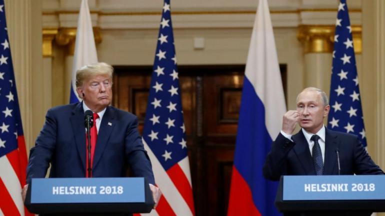 Trump y Putin (AP / Archivo)
