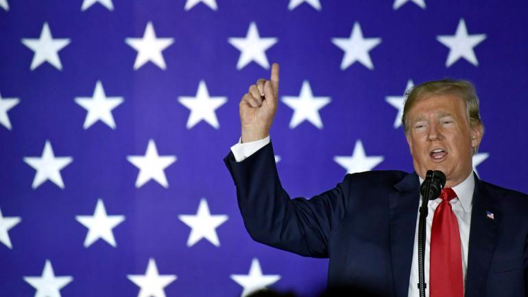 """""""No empezó con Donald Trump. Él es un síntoma, no la causa"""", dijo Obama. (AP)"""