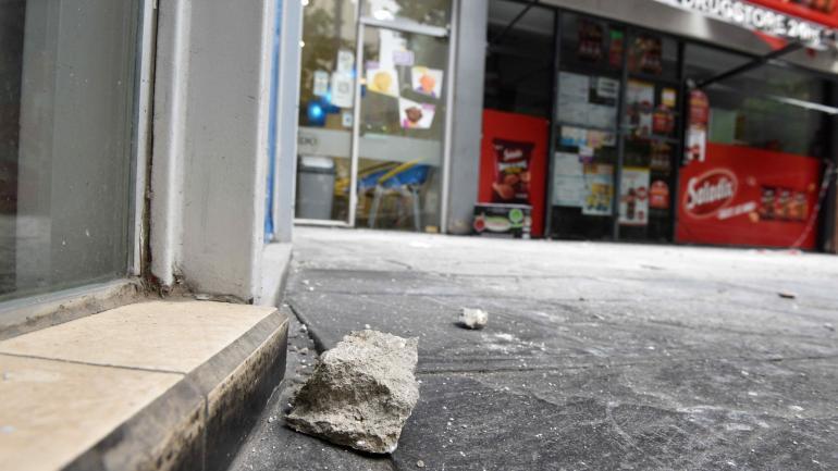 CERRADO. El sector fue resguardado por seguridad. (La Voz).