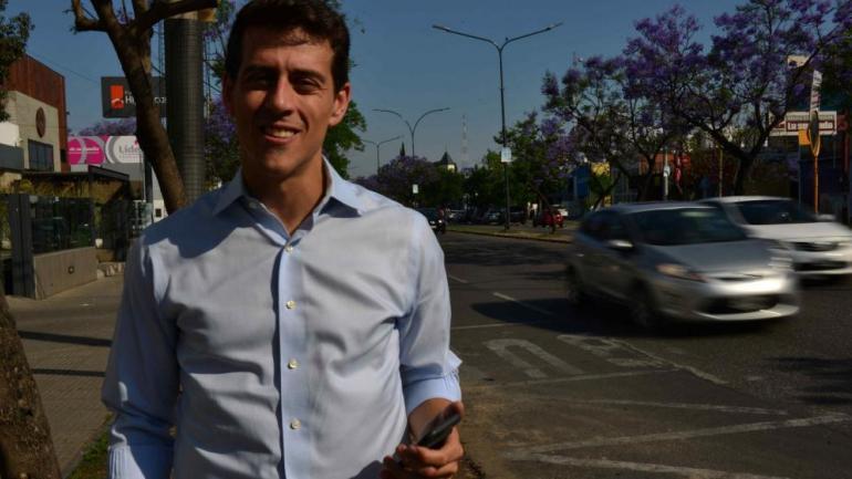 MARIANO OTERO, CEO DE UBER. (La Voz / Archivo).