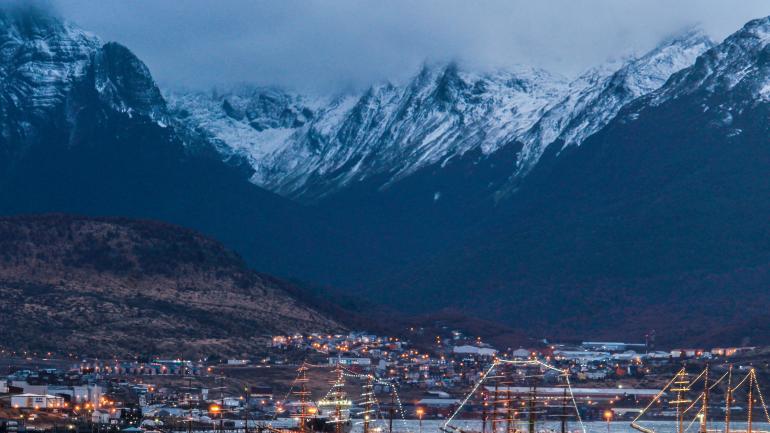 Ushuaia. Otro de los destinos elegidos por los argentinos. (La voz / Archivo)
