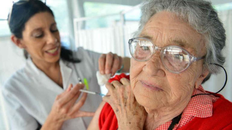En el Hospital Pediátrico, la campaña arrancó el lunes (Javier Ferreyra).