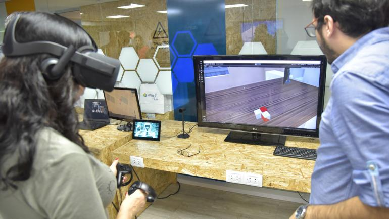REALIDAD VIRTUAL. Vates desarrolla soluciones de realidad virtual para el tratamiento de problemas psicopedagógicos. (Facundo Luque)