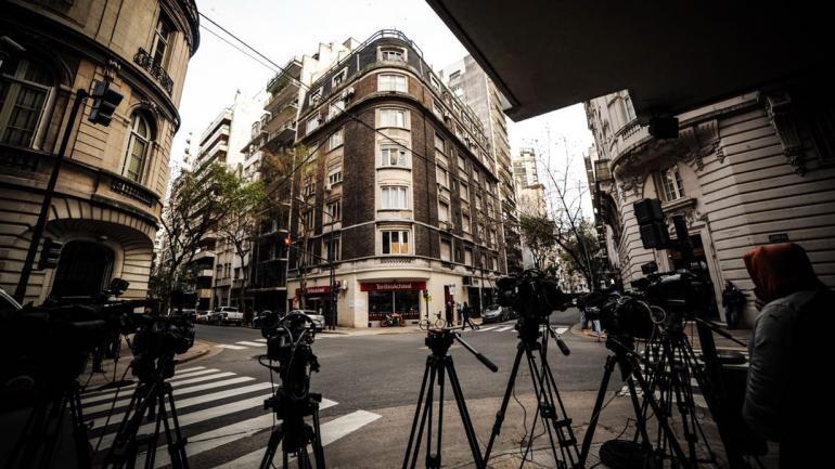 El edificio donde Cristina tiene su departamento (Federico López Claro).