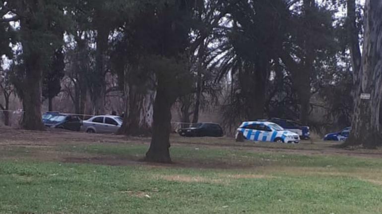 El joven fue golpeado en el Parque Hipólito Yrigoyen (La Voz).