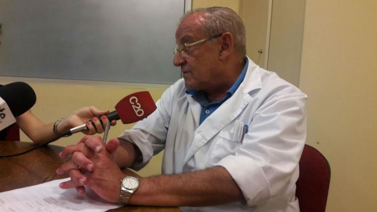 LUIS SEGGIARO. Director del Hospital Pasteur de Villa María.