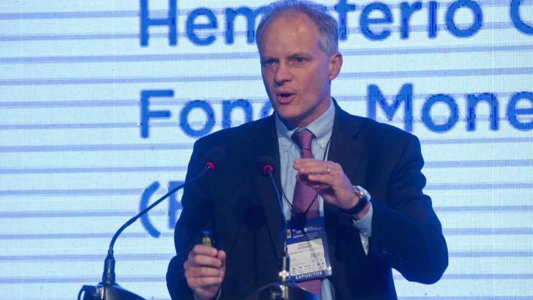 Alejandro Werner, director para el Hemisferio Occidental del FMI (AP).