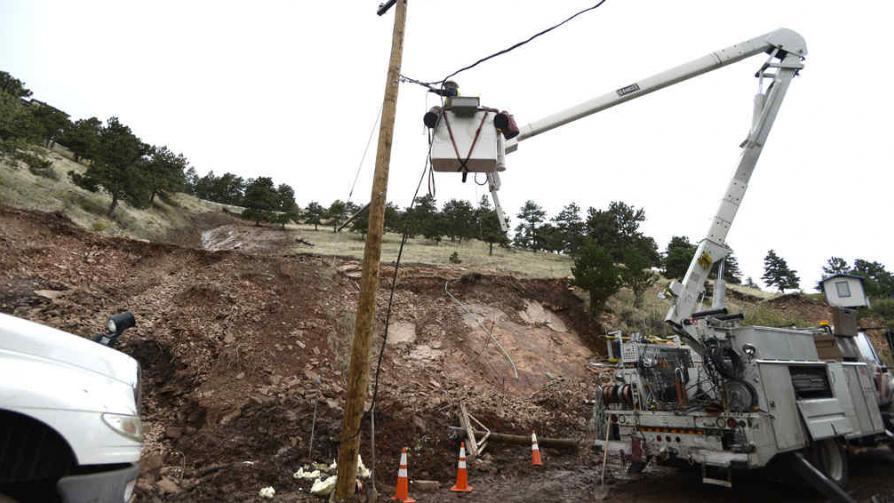 INUNDACIONES. Trágicas consecuencias en Colorado (AP).