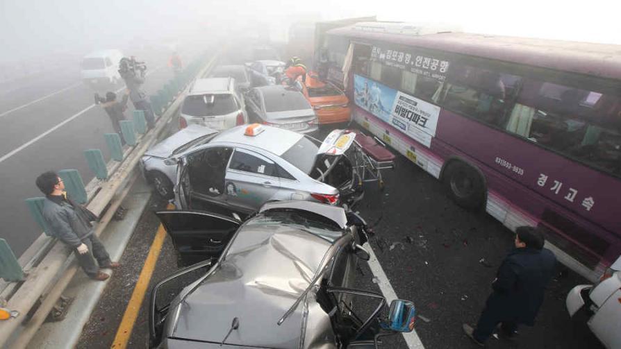 La escasa visibilidad fue uno de los factores desencadenantes (AP).