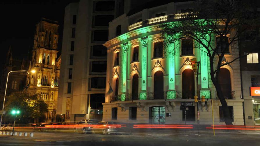 Edificios iluminados en c rdoba la voz del interior for Ministerio del interior cordoba