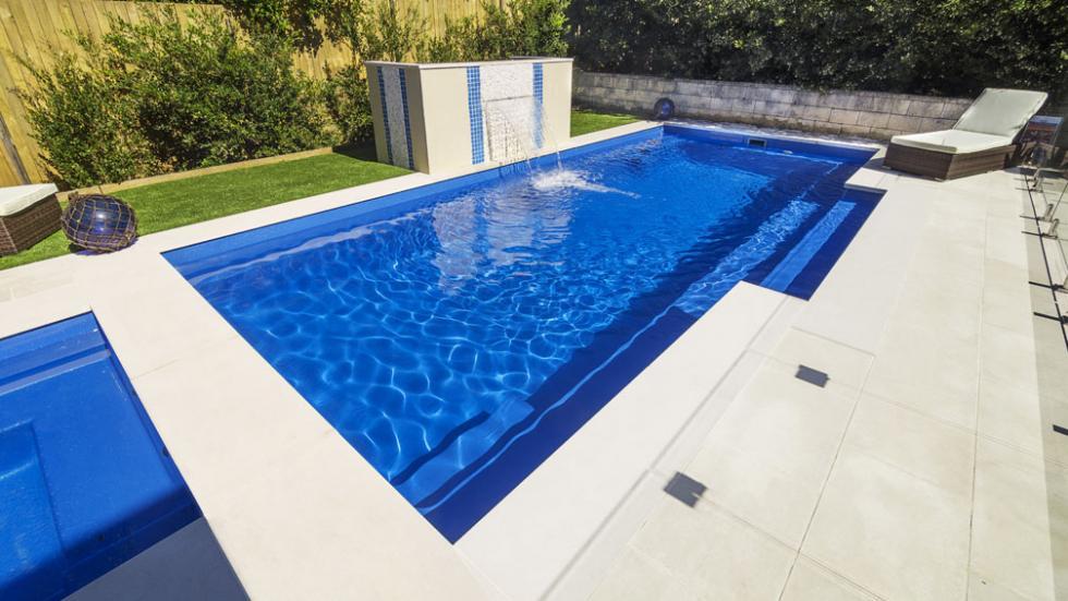 La mejor opci n para contar con una piscina antes de que for Piletas de material precios
